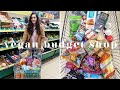 Gambar cover £12 VEGAN WEEKLY BUDGET GROCERY SHOP AT ALDI 💰