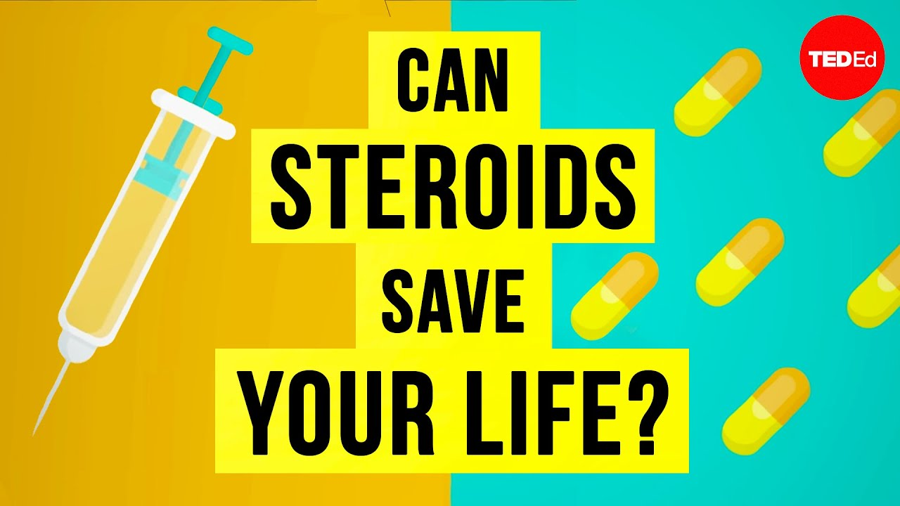 Can steroids save your life? - Anees Bahji