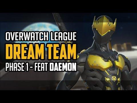 Le 6 d'or : l'équipe type de l'Overwatch League (phase 1) avec daemoN