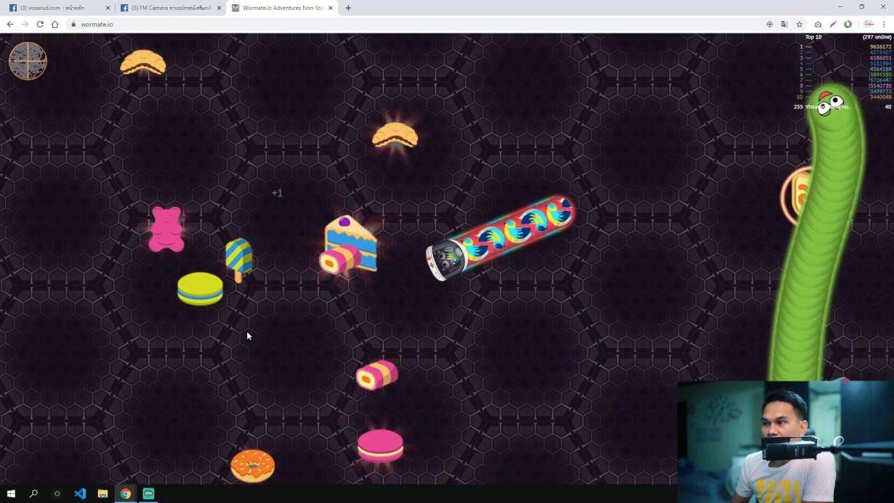 แก้ไขเล่น wormate.io บน Google Chrome ไม่ให้กระตุก