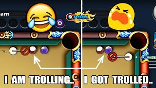 I TROLLED & MOCKED THIS PLAYER IN 8 BALL POOL, THEN HE DID THIS...