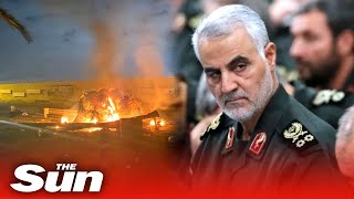 US kills Iranian general in rocket strike at Baghdad airport as countries stand on brink of war