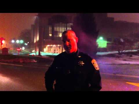 Western Michigan University WMU Police Harass MDOT Non-Motorized Trail User - Nathan Lutz
