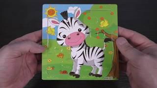 Children's puzzle - Giraffe - Unpacking Parcel