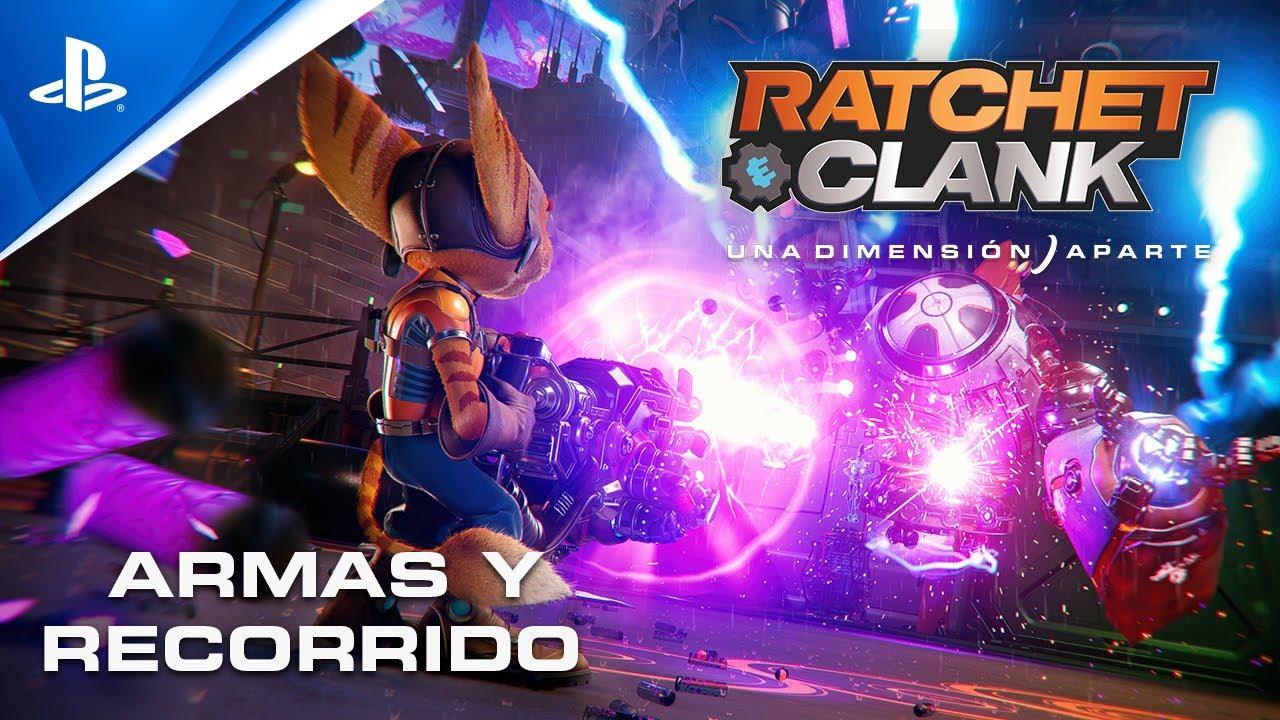 Ratchet & Clank: Una Dimensión Aparte Tráiler