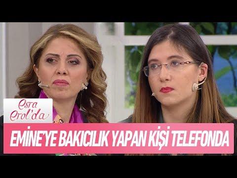 Doğduktan sonra Emine'ye bakıcılık yapan kişi telefonda - Esra Erol'da 17 Ocak 2019