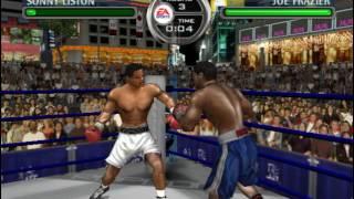 Sonny Liston vs Joe Frazier - Knockout Kings 2003