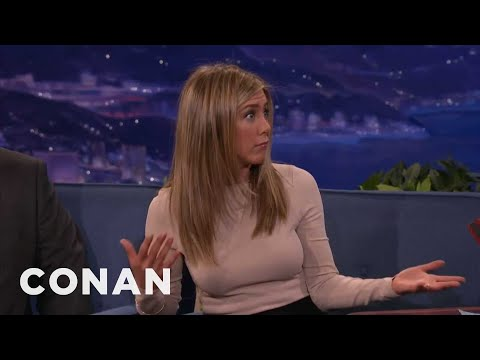 Jennifer Aniston: A Laser Peel Made My Face Fall Off - CONAN on TBS