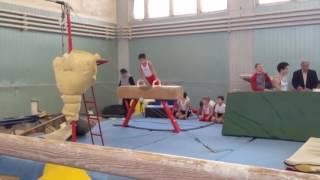 Соревенования по спортивной гимнастике,1 юношеский разряд