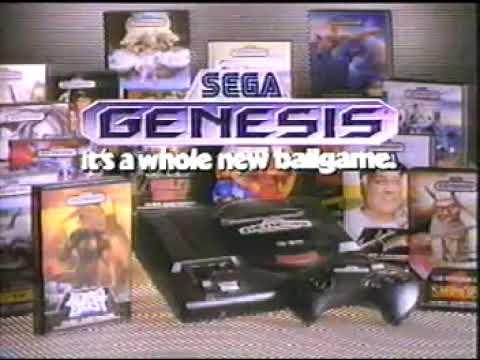 Tommy Lasorda Baseball Commercial - Sega Genesis