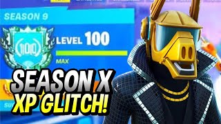 FORTNITE SEASON 10 TIER 100 GLITCH
