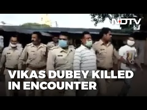 Gangster Vikas Dubey Killed While Being Taken To Kanpur | Breaking News