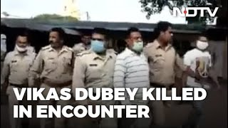 Kanpur Encounter: Gangster Vikas Dubey Killed While Being Taken To Kanpur - Reports