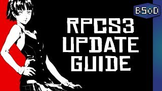 Playstation 3 Emulation | How to Easily Update RPCS3