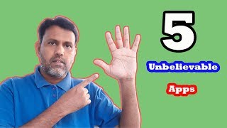 5 Best Unbelievable Android Apps 2018 - Check It Out|Tamil Tech Ginger🔥🔥🔥
