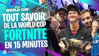 THE SUMMARY COMPLET OF THE WORLD CUP FORTNITE (Solary, Bugha, Skite etc.)