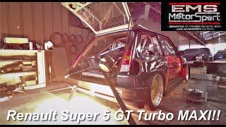 Carto MaxxECU sur cette Renault Super 5 GT Turbo MAXI faite maison !!!