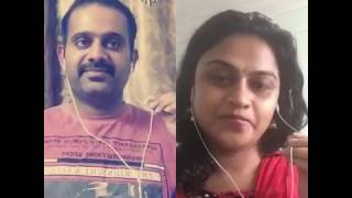 Sandhana katre with Sree