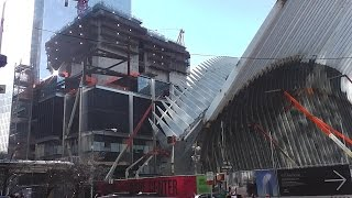 UPDATE! One World Trade Center / Freedom Tower 1/23/2015 construction progress part 2