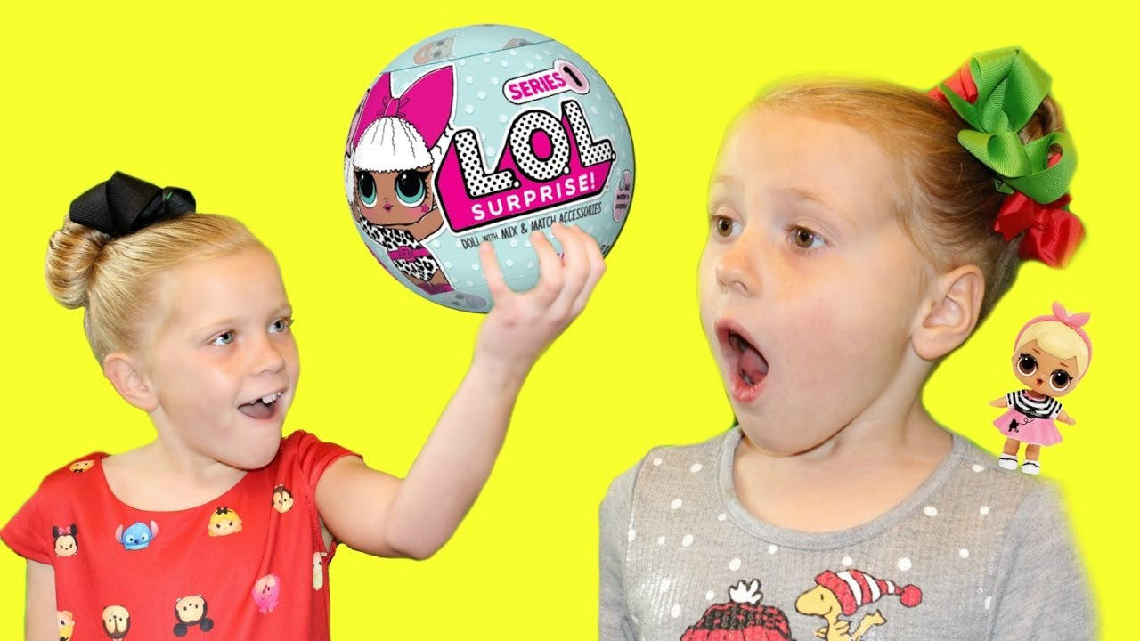 LOL Lil Outrageous Littles Surprise Dolls Review - YouTube