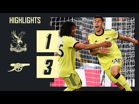 HIGHLIGHTS   Pepe and Martinelli with the goals!   Crystal Palace 1-3 Arsenal   Premier League
