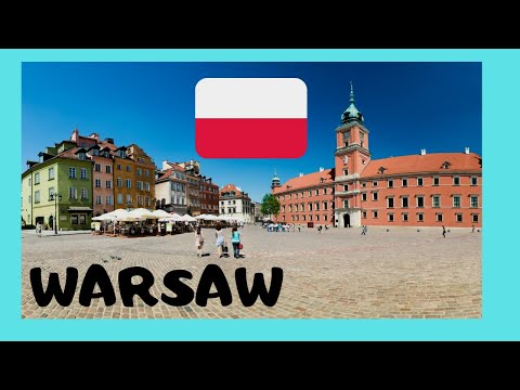 WARSAW, historic Castle Square, Old Town (Poland)