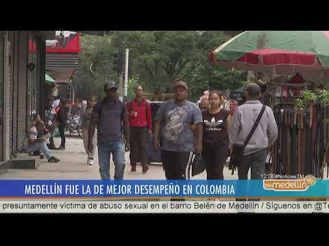 Medellín es el municipio de Colombia que mejor desempeño tiene [Noticias] - Telemedellín