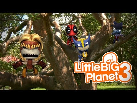 Little Big Planet 3 (PS4): Let's Hide Together!