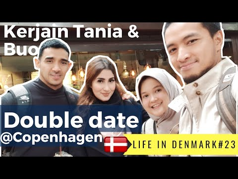 KERJAIN TANIA & BUO DI COPENHAGEN | Eqiprawz Dinda | LIFE IN DENMARK #23