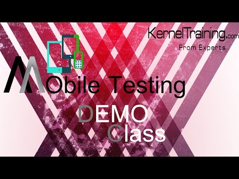 Mobile Application And Device Testing Tutorial For Beginners