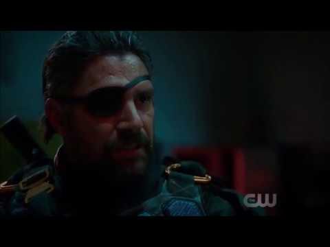 Arrow Season 6 Episode 5: Deathstroke Fight Scene