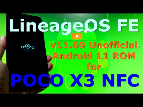 LineageOS FE v11.69 for Poco X3 NFC (Surya) Android 11
