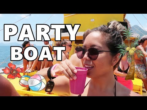PARTY ON A BOAT!!! EL NIDO, PALAWAN (April 24, 2018) - saytioco