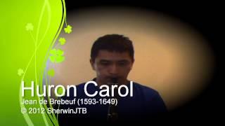 Huron Carol - Clarinet