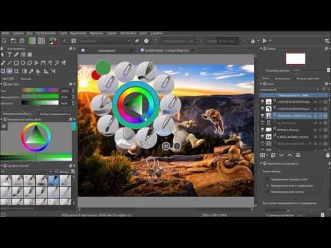 Обзор графического редактора Krita