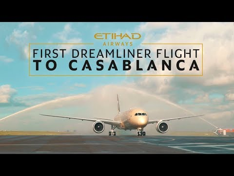 Our First Boeing 787 Dreamliner Flight to Casablanca | Etihad Airways