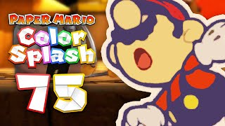Paper Mario: Color Splash - 75 End - Mario & Huey Die?! 100% Secret Ending Cutscene