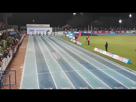 Mens 150m, Athletix Grand Prix, Pretoria, 8 March 2018