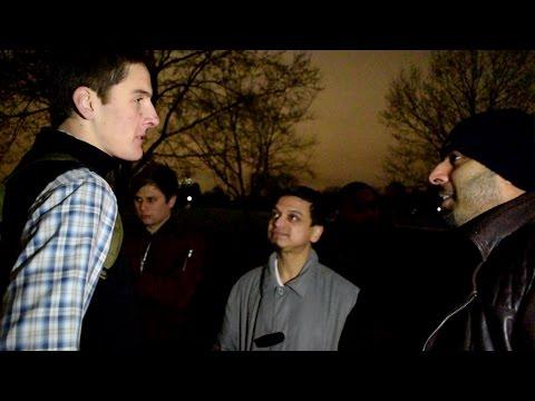 P1 - In Biblical Darkness Mansur vs Christian | Speakers Corner | Hyde Park