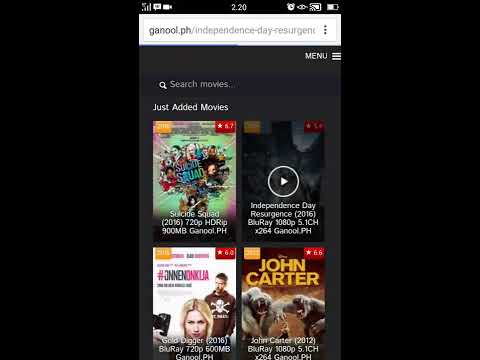 Cara Download Film di ganool Dengan Hp Android