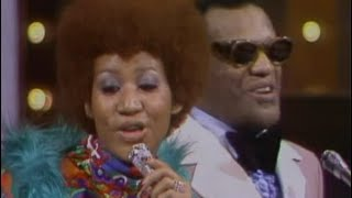 Aretha Franklin & Ray Charles - It Takes Two To Tango (1975)