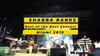 Shabba Ranks At Best Of The Best Concert In Miami (May 2019)