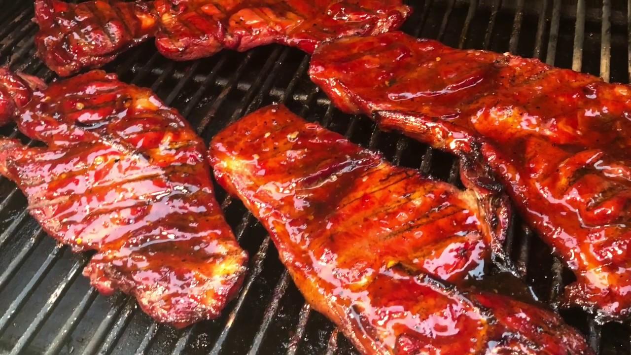 BBQ Pork Steaks