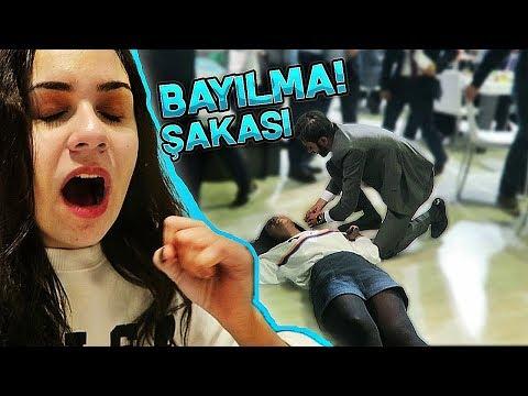 KİLİM MOBİLYA' DA BAYILMA ŞAKASI YAPTIM !!!