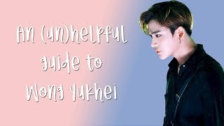 An (un)helpful guide to Lucas (Wong Yukhei)
