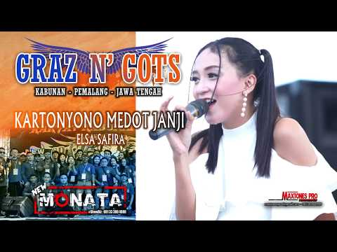 KARTONYONO MEDOT JANJI ( Cipt : Denny Caknan ) - ELSA SAFIRA- NEW MONATA LIVE GRAZ & GOTS 2019