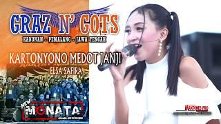KARTONYONO MEDOT JANJI ( Cipt : Denny Caknan) - ELSA SAFIRA- NEW MONATA LIVE GRAZ & GOTS 2019