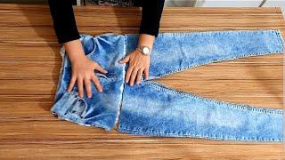 ÇOK PRATİK GERİ DÖNÜŞÜM /jeans recycle