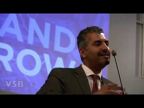 Maajid Nawaz(former islamist) speaks at 911 Memorial Preview Site