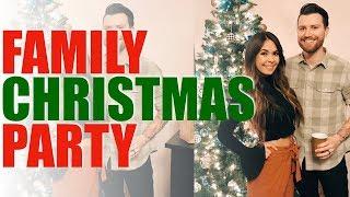 Family Xmas Party | VLOGMAS DAY 23